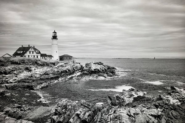 Wall Art - Photograph - Portland Head Infrared by Luke Moore