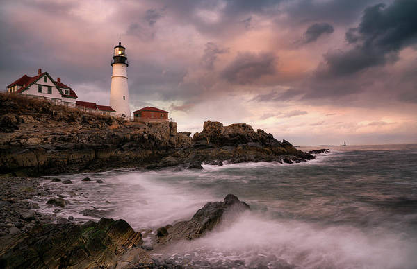 Photograph - Portland Head Light by Darylann Leonard Photography