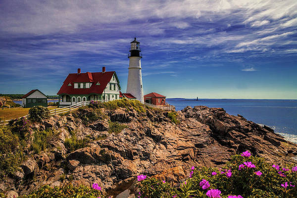 Wall Art - Photograph - Portland Head Lighthouse by Andrew Soundarajan