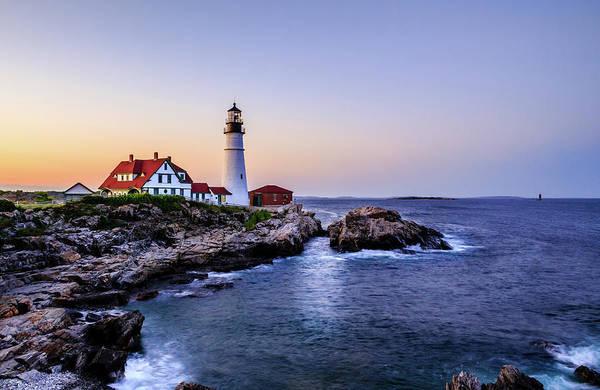 Wall Art - Photograph - Portland Head Lighthouse by Kenneth Buderman
