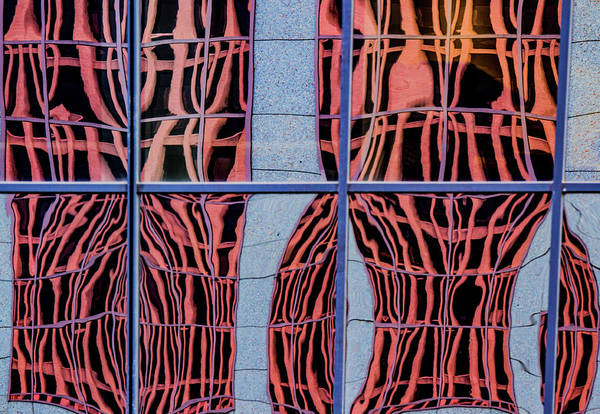 Photograph - Portland Window Reflections by Jean Noren