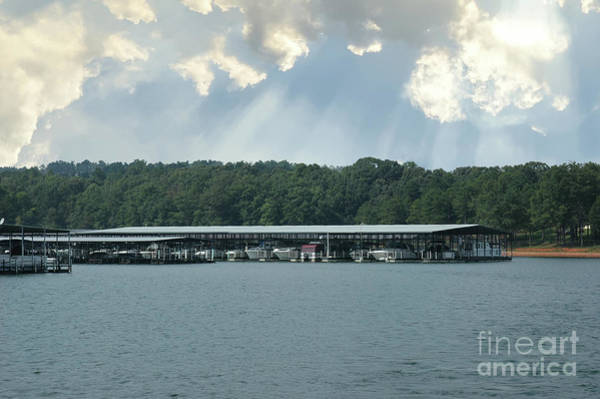 Photograph - Portman Marina On Lake Hartwell In Anderson South Carolina by Dale Powell