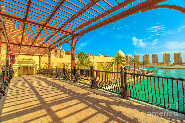 Photograph - Porto Arabia The Pearl by Benny Marty