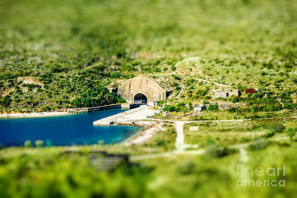 Wall Art - Photograph - Porto Palermo Tunnel In Military Zone by Rosshelen