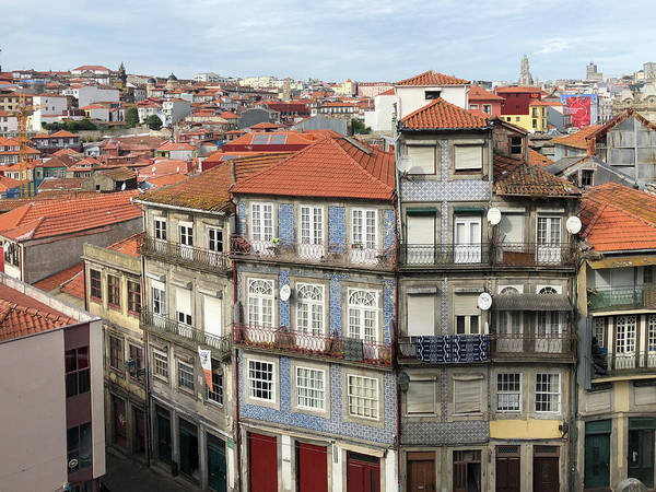 Photograph - Porto Roofs by Georgia Fowler