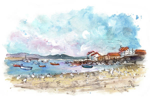 Painting - Portocubelo In Galicia 03 by Miki De Goodaboom