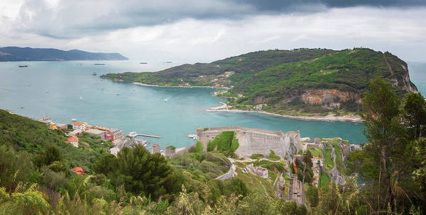 Photograph - Portovenere Italy Panorama by Joan Carroll