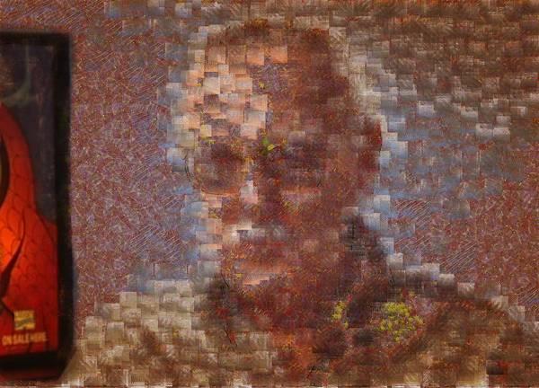 Digital Art - Portrai Stan Lee by Mario Carini
