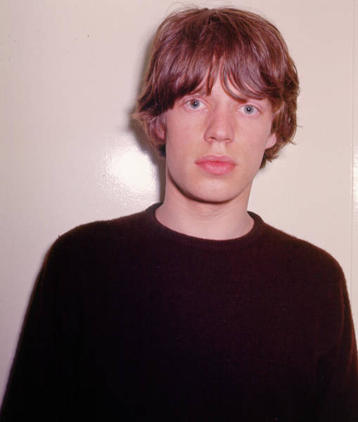 Mick Jagger Photograph - Portrait by Michael Ochs Archives