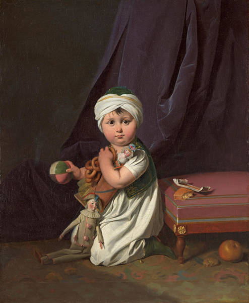 Painting - Portrait Of A Boy by Louis Leopold Boilly