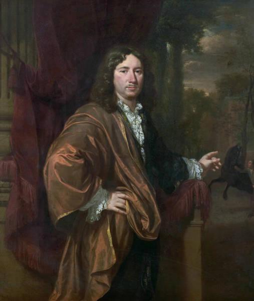 Painting - Portrait Of A Man, 1685 by Jan Verkolje