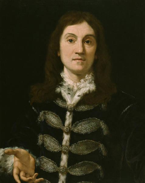 Painting - Portrait Of A Man by Giovanni Battista Gaulli