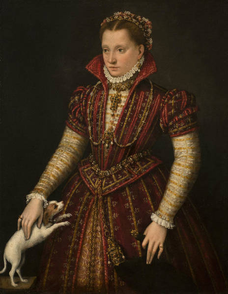 Painting - Portrait Of A Noblewoman by Lavinia Fontana
