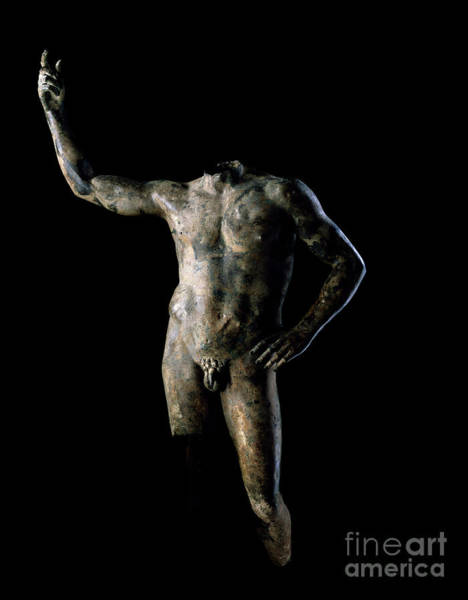 Wall Art - Sculpture - Portrait Of A Ruler by Roman School