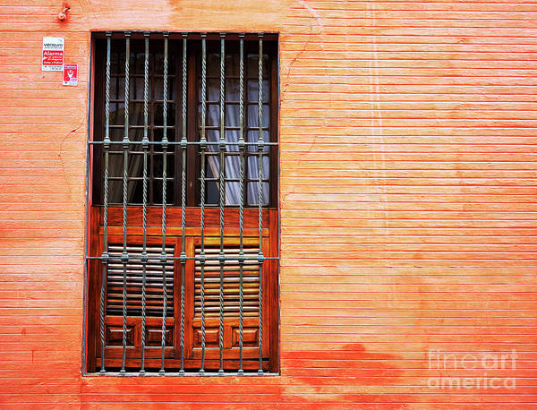Photograph - Portrait Of A Window In Seville by John Rizzuto