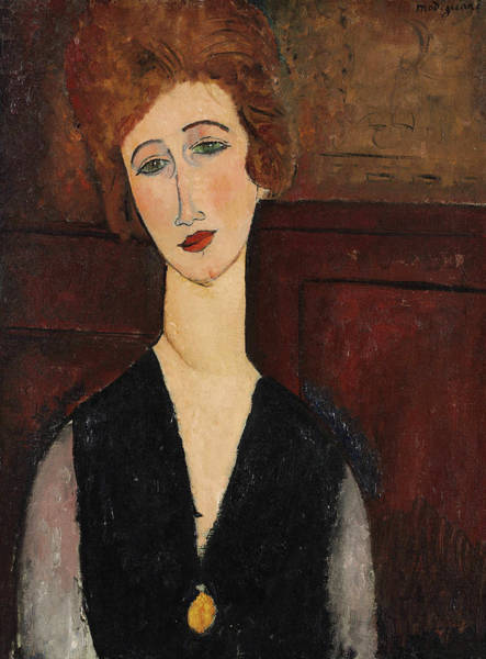 Modigliani Painting - Portrait Of A Woman, 1918 by Amedeo Modigliani