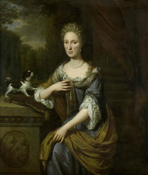 Painting - Portrait Of A Woman by Jan Verkolje
