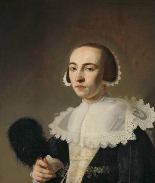 Painting - Portrait Of A Woman by Pieter Dubordieu