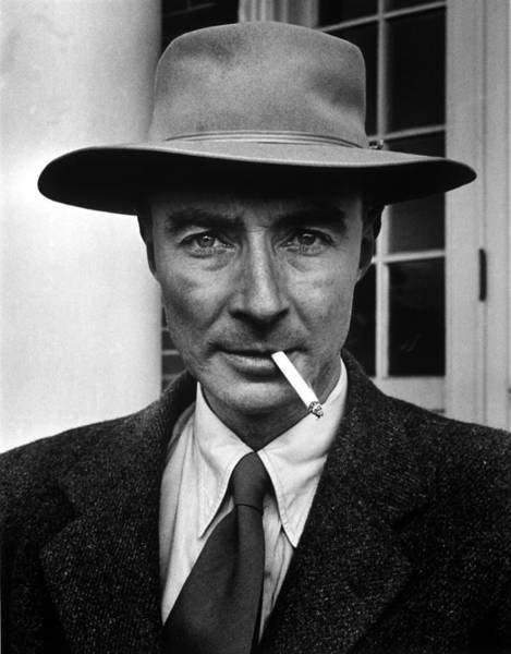Physicist Photograph - Portrait Of American Physicist J by Alfred Eisenstaedt