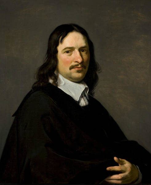 Painting - Portrait Of An Unknown Man by Jan de Bray
