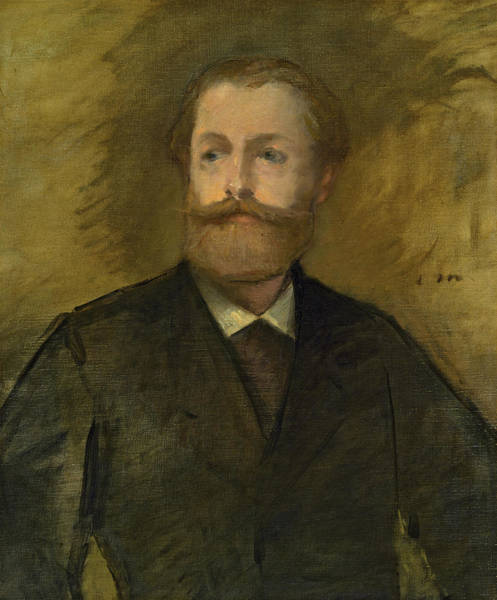 Wall Art - Painting - Portrait Of Antonin Proust, 1880 by Edouard Manet