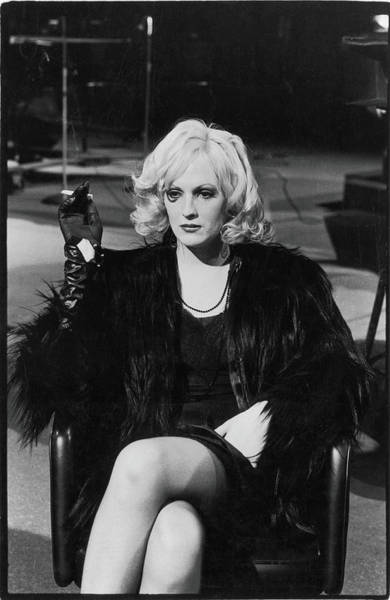 Transgender Photograph - Portrait Of Candy Darling by Fred W. McDarrah