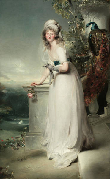 Wall Art - Painting - Portrait Of Catherine Grey, Lady Manners, 1794 by Thomas Lawrence