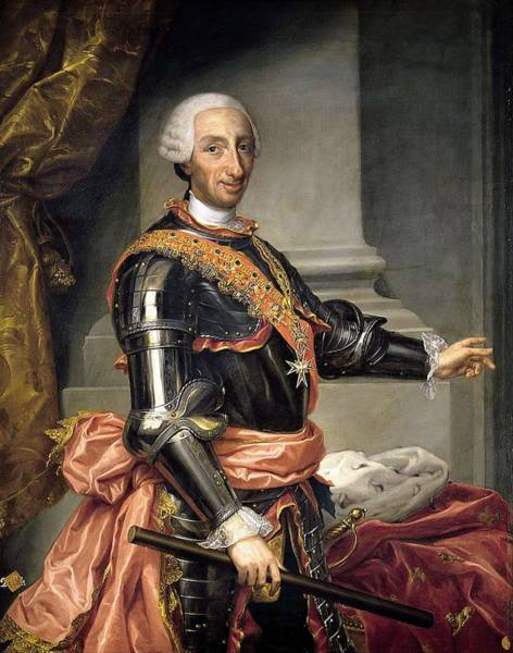 Wall Art - Painting - Portrait Of Charles IIi  by Andrs de la Calleja