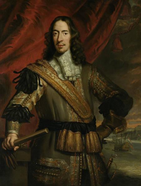 Painting - Portrait Of Cornelis De Witt by After Jan de Baen