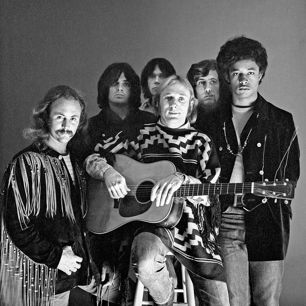 Neil Young Photograph - Portrait Of Crosby, Stills, Nash, & by Jack Robinson