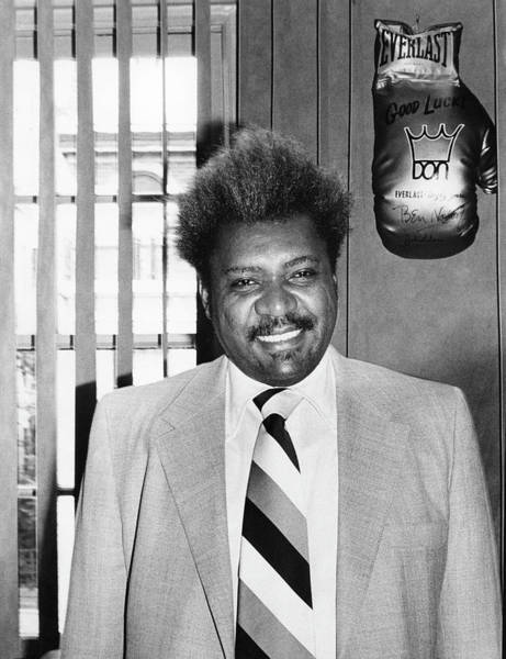 Photograph - Portrait Of Don King by Fred W. McDarrah
