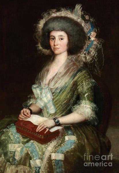 Wall Art - Painting - Portrait Of Dona Manuela Camas, 1795 by Goya