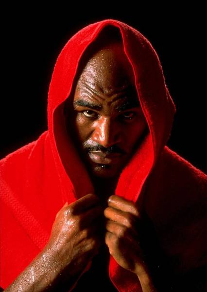 Boxing Photograph - Portrait Of Evander Holyfield by Al Bello