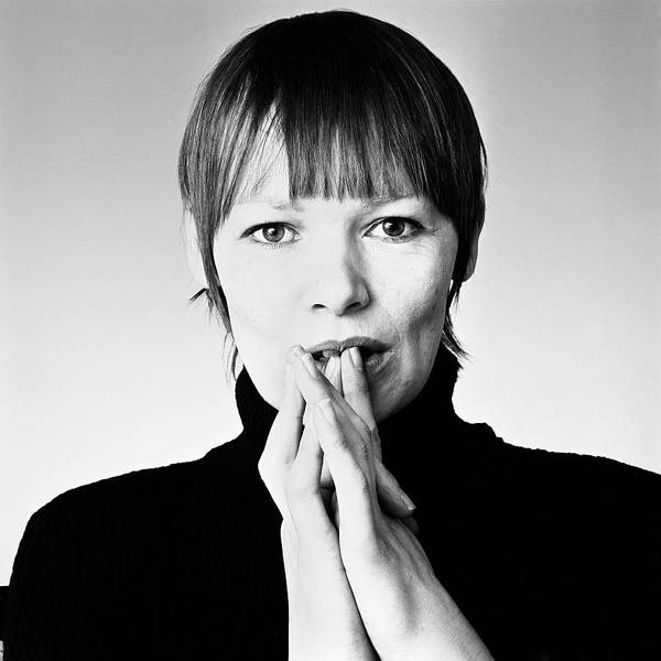 Photograph - Portrait Of Glenda Jackson by Jack Robinson