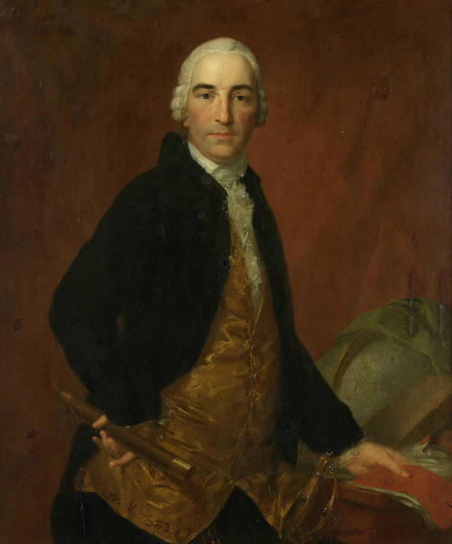 Painting - Portrait Of Governor General Willem Arnold Alting by Johann Friedrich August Tischbein