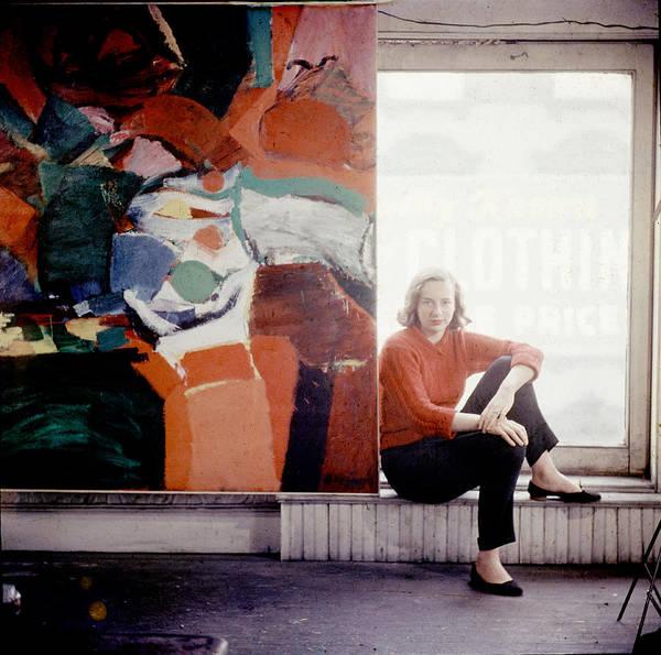 East Side Photograph - Portrait Of Grace Hartigan by Gordon Parks
