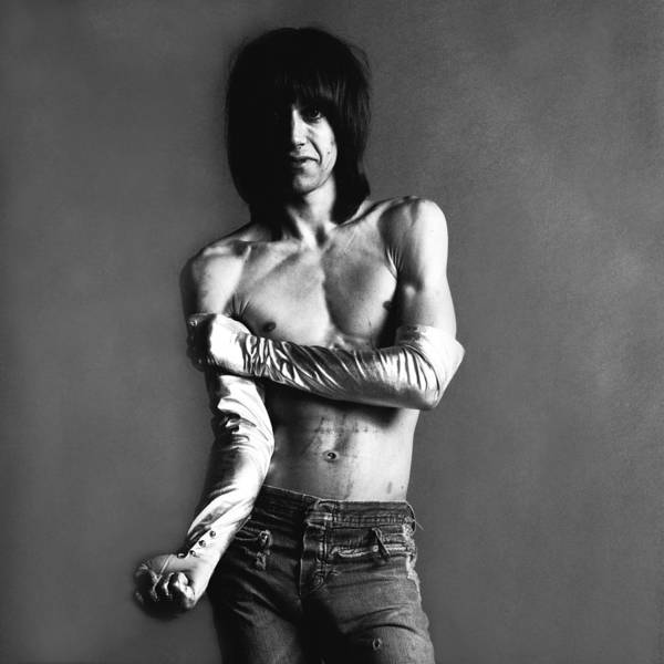 Photograph - Portrait Of Iggy Pop by Jack Robinson