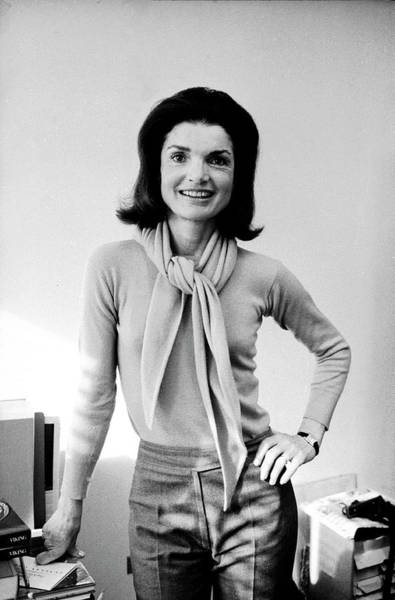 Sweater Wall Art - Photograph - Portrait Of Jackie Onassis by Alfred Eisenstaedt