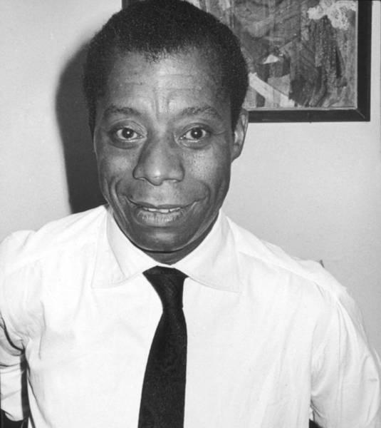 Photograph - Portrait Of James Baldwin by Fred W. McDarrah