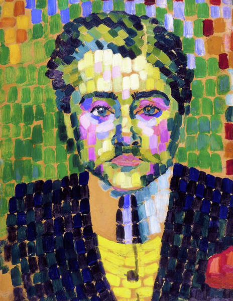 Wall Art - Painting - Portrait Of Jean Metzinger - Digital Remastered Edition by Robert Delaunay