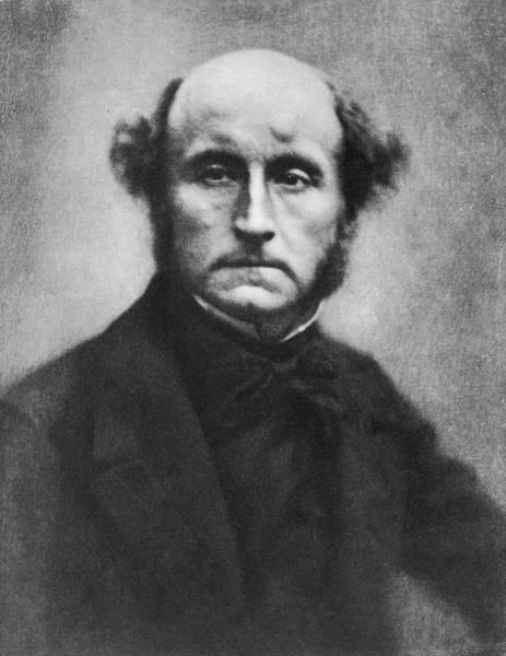 Philosophy Photograph - Portrait Of John Stuart Mill by Time Life Pictures