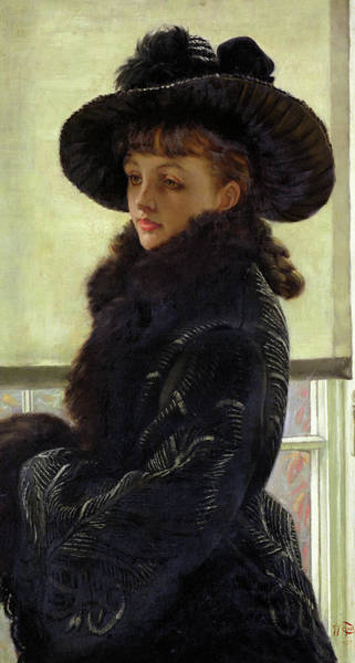 Wall Art - Painting - Portrait Of Kathleen Newton, Mavourneen, 1877 by James Tissot