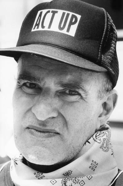 Scriptwriter Photograph - Portrait Of Larry Kramer by Fred W. McDarrah