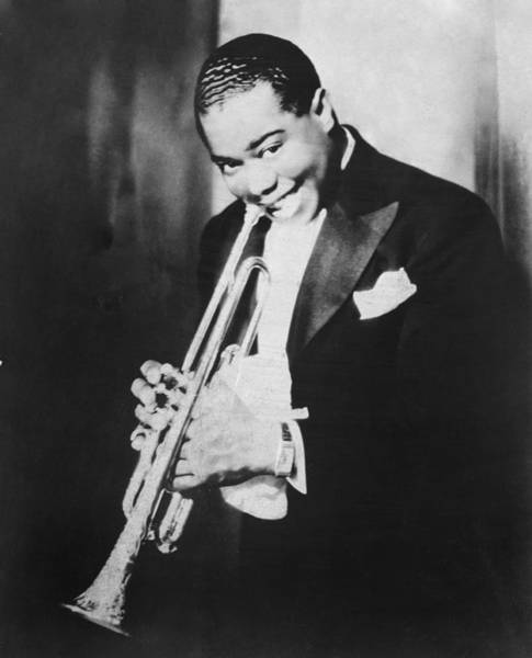 Photograph - Portrait Of Louis Armstrong by Chicago History Museum