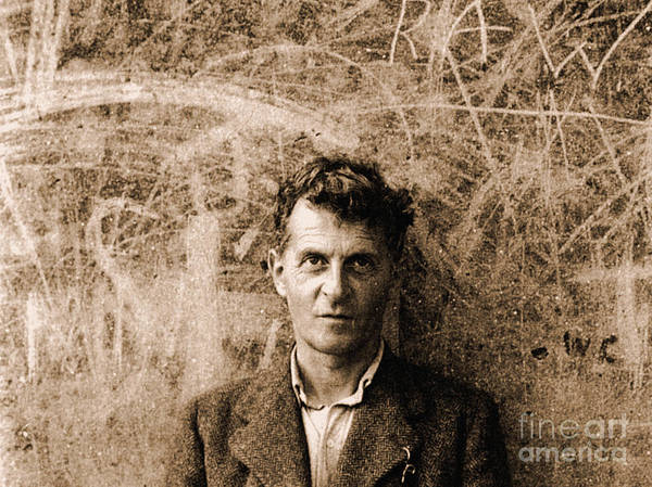 Wall Art - Photograph - Portrait Of Ludwig Wittgenstein  by English School
