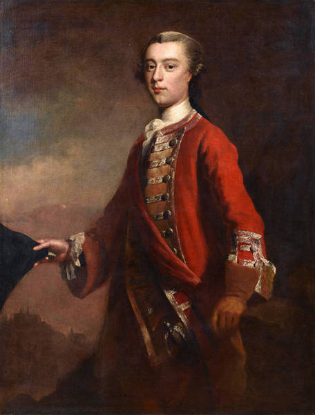 Painting - Portrait Of Major-general James Wolfe by Attributed to Joseph Highmore