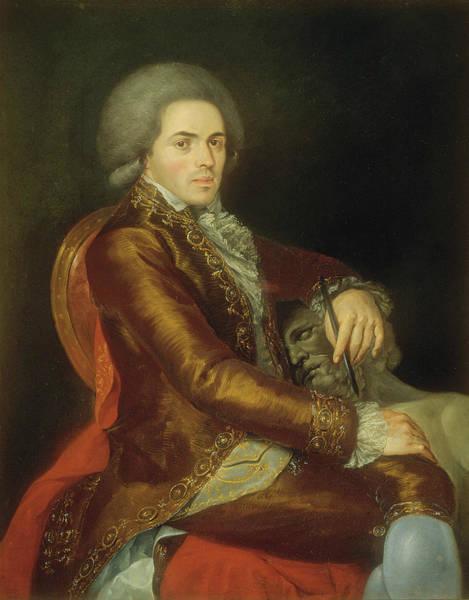 Painting - Portrait Of Manuel Tolsa by Rafael Ximeno y Planes