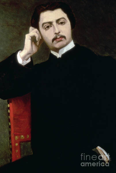 Wall Art - Painting - Portrait Of Marcel Proust, 1897  by Jacques-Emile Blanche