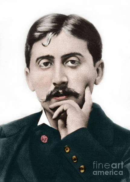 Wall Art - Photograph - Portrait Of Marcel Proust by French School