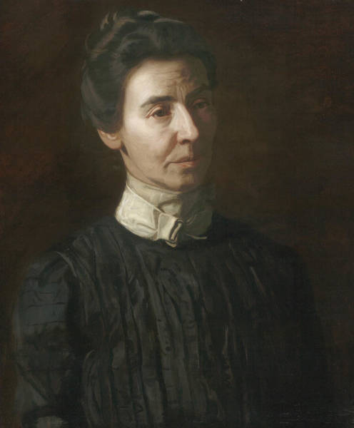 Wall Art - Painting - Portrait Of Mary Adeline Williams by Thomas Eakins
